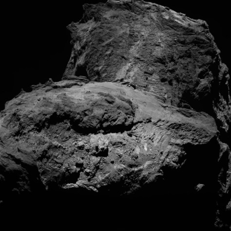 Rugged terrain on 67P © ESA/Rosetta/MPS for OSIRIS Team MPS/UPD/LAM/IAA/SSO/INTA/UPM/DASP/IDA