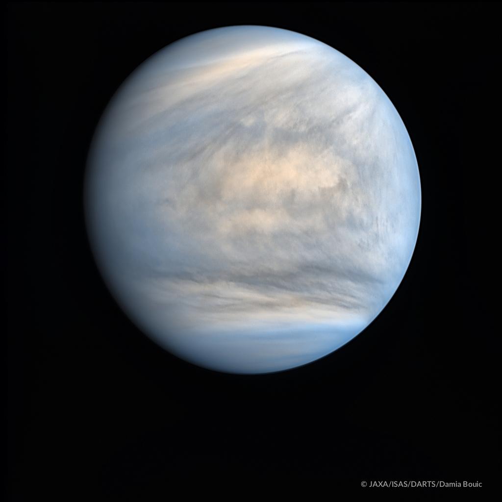 Global View Of Venus In Ultraviolet From Akatsuki