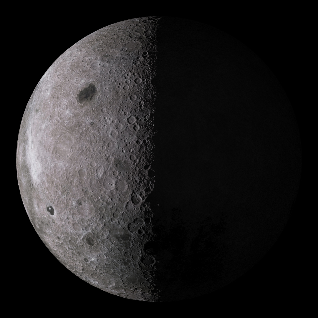 The Phases Of The Far Side Of The Moon