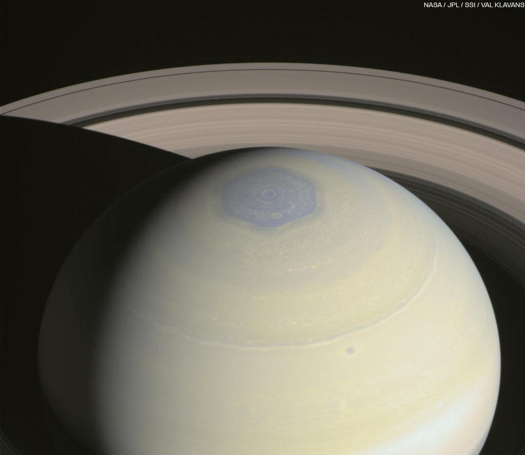Saturns north polar hexagon  The Planetary Society