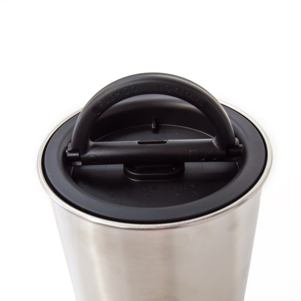 Photo of stainless steel storage container with Airscape seal