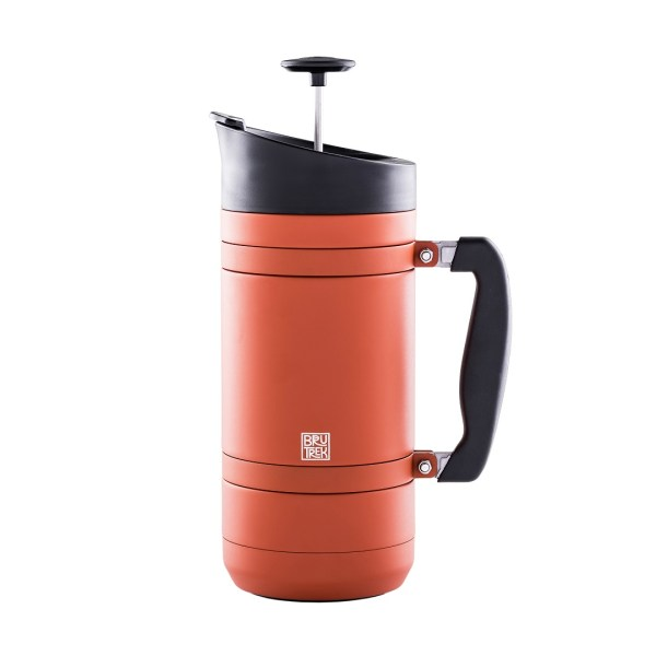 Photo of red rock insulated French Press