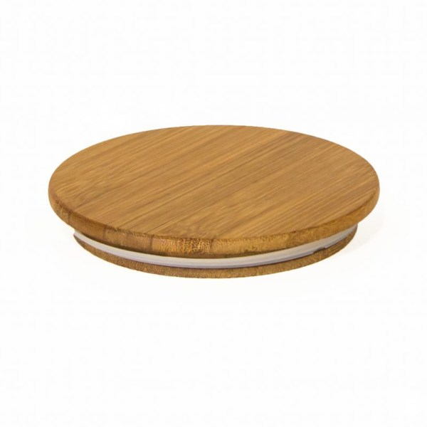 Photo of bamboo top lid for Airscape Ceramic