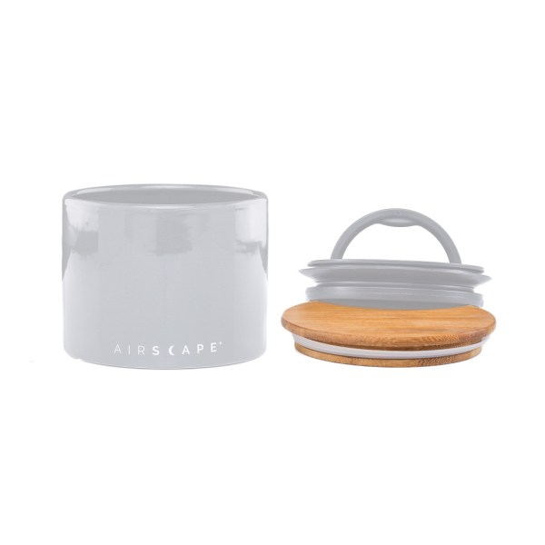 Context photo of bamboo top lid for Airscape Ceramic