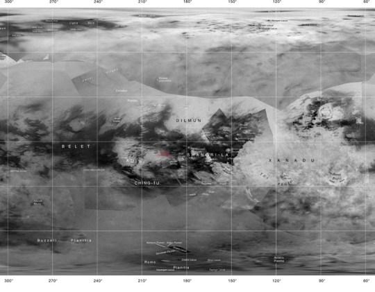 Titans yta