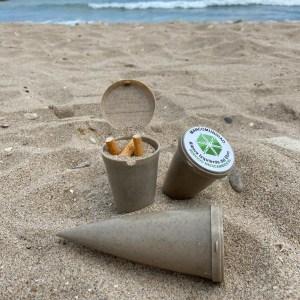 Cenicero de playa Mancomunidad Rivera Izquierda del Ebro