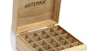 Caixa de madeira - dōTERRA