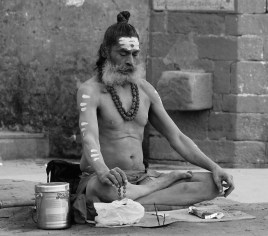 Holy Man in varanasi