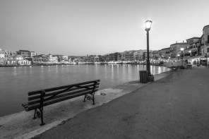 Hania Crete in Black and White