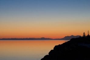 Beluga Point at Sunset