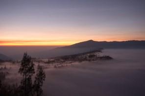 Cemoro Lewang at sunrise