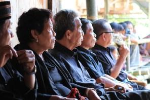 Toraja family funeral