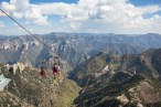 Copper Canyon zip lining
