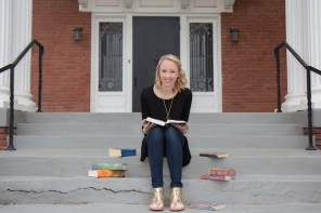 Sr. Pic with books