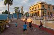 Soccer match in Trinidad