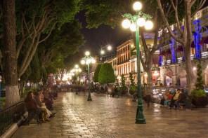 Zocalo night photo