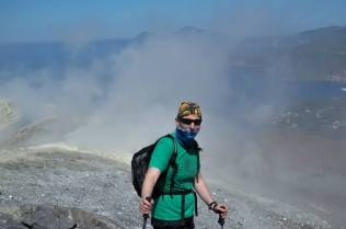 On Vulcano (sulphur smells bad!)