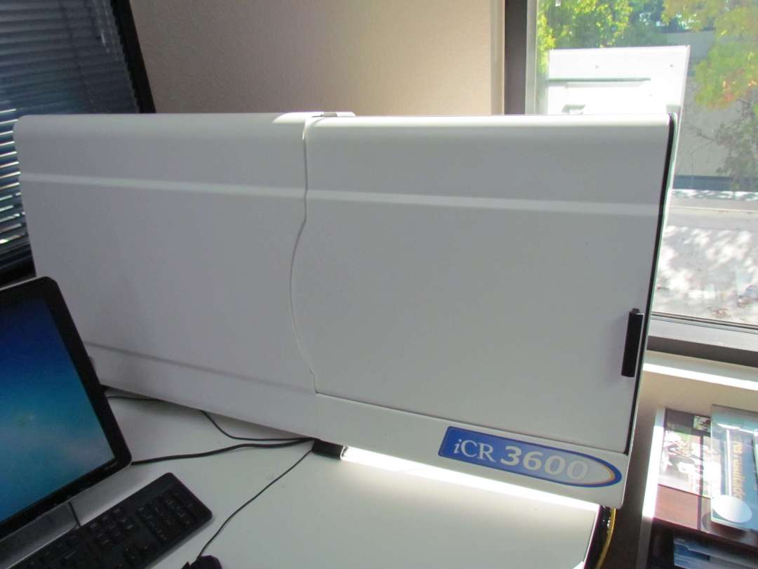 Digital X-Ray -• iCR3600 Digital X-Ray Scanner with all the Bells