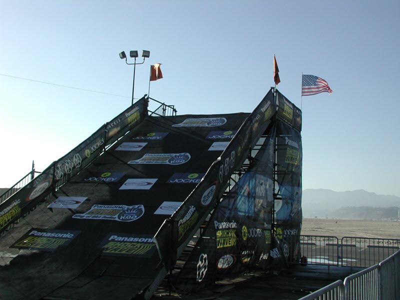 BMX Core Tour Platform Flag Flying