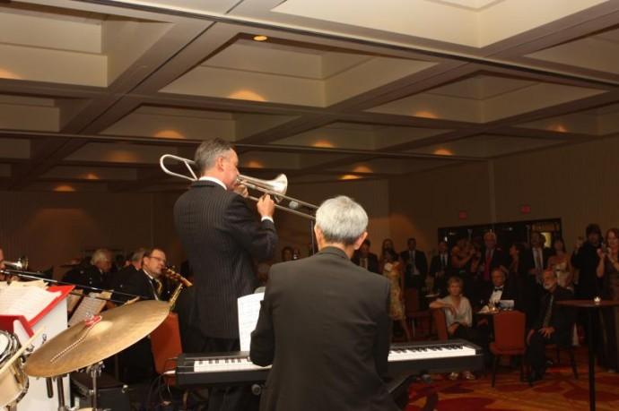 Chiropractor Brian Kelly Plays Trombone