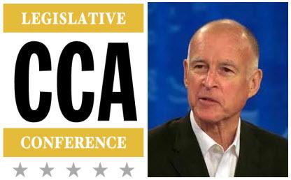 CCA Legislative Conference Governor Jerry Brown