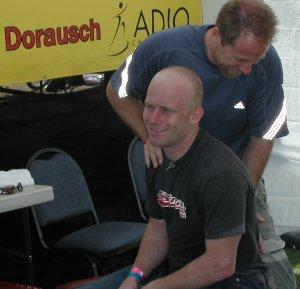 chiropractor Michael Dorausch with BMX