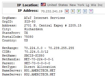 IP Location 70.232.241.19
