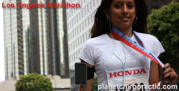 Los Angeles Marathon Runner