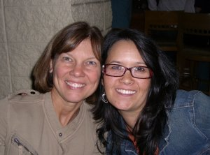 Drs. Kathy McAuliffe and Carolyn Griffin