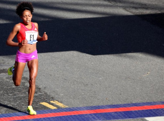 Misiker Mekonnin LA Marathon 2012