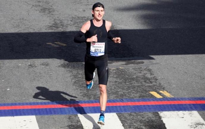 Owen Kiely 2012 LA Marathon