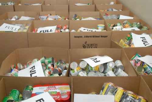 Parker College of Chiropractic's 12th Annual Food Drive