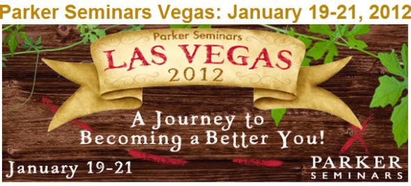 Parker Seminars Las Vegas 2012