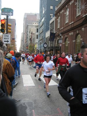 Philadelphia Marathon at 17th Street