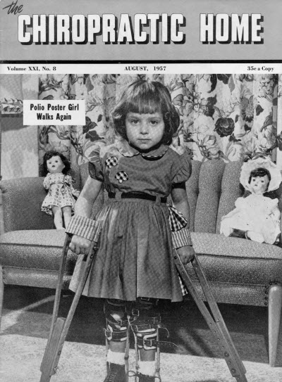 Polio Poster Girl Chiropractic