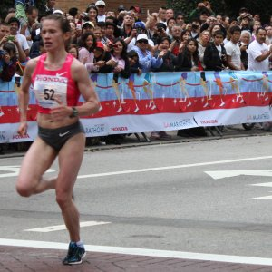 Tatyana Petrova 2009 LA Marathon Womans Winner