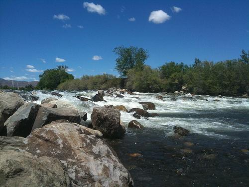 Truckee River Reno Nevada