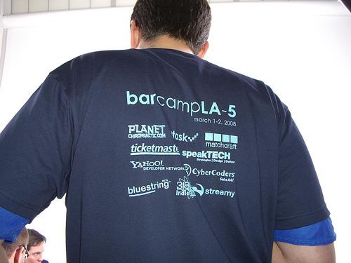 barcamp la t-shirt