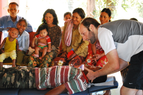cambodia chiropractor mission trip 2009