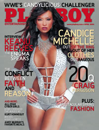 Chiropractors very own PlayBoy CoverGirl - Candice Michelle!