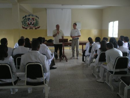 Medical Doctors and residents at Morillo King Hospital