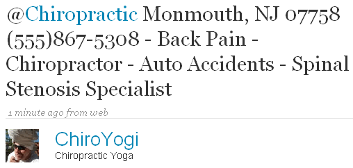 Chiropractic Monmouth, NJ