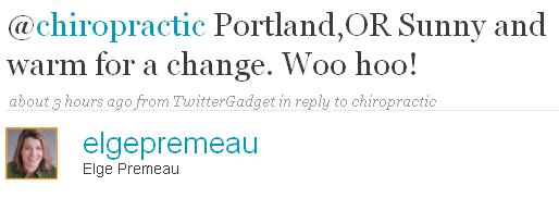 chiropractic Portland, Oregon