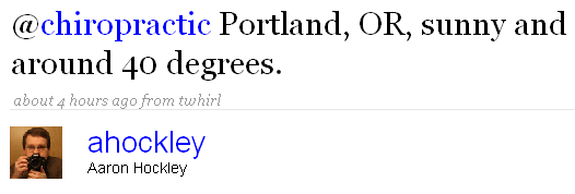 Chiropractic Portland