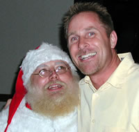 Santa Claus and Dr. Michael Dorausch