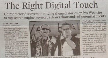 Use a Top Story and Tie it into Your Site