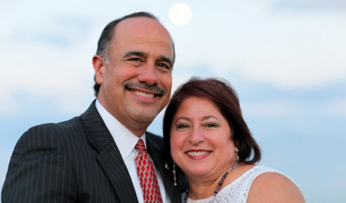 Dr. Ed and Debbie Cordero on May 23