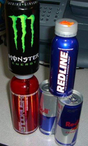 monster energy, red bull, redline,endo rush