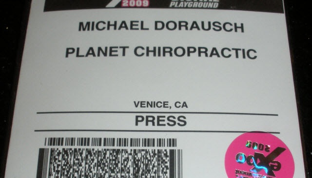 expo press pass
