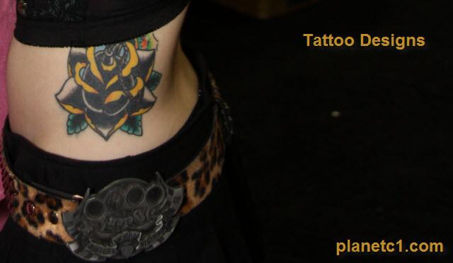 flower tattoos women
